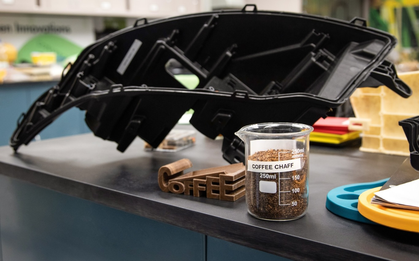 Ford creates new composite components from McDonald's coffee waste