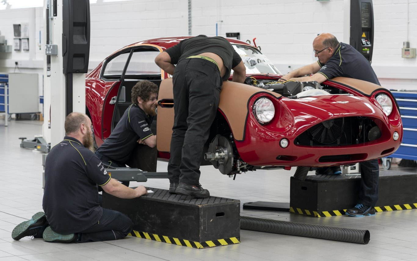 Aston Martin DB4 Continuation set for deliveries