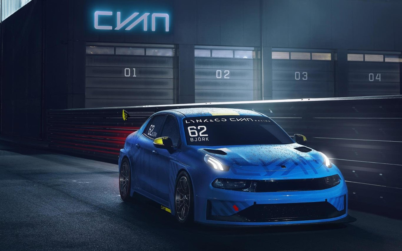 Cyan Racing to go racing with new Lynk & Co car