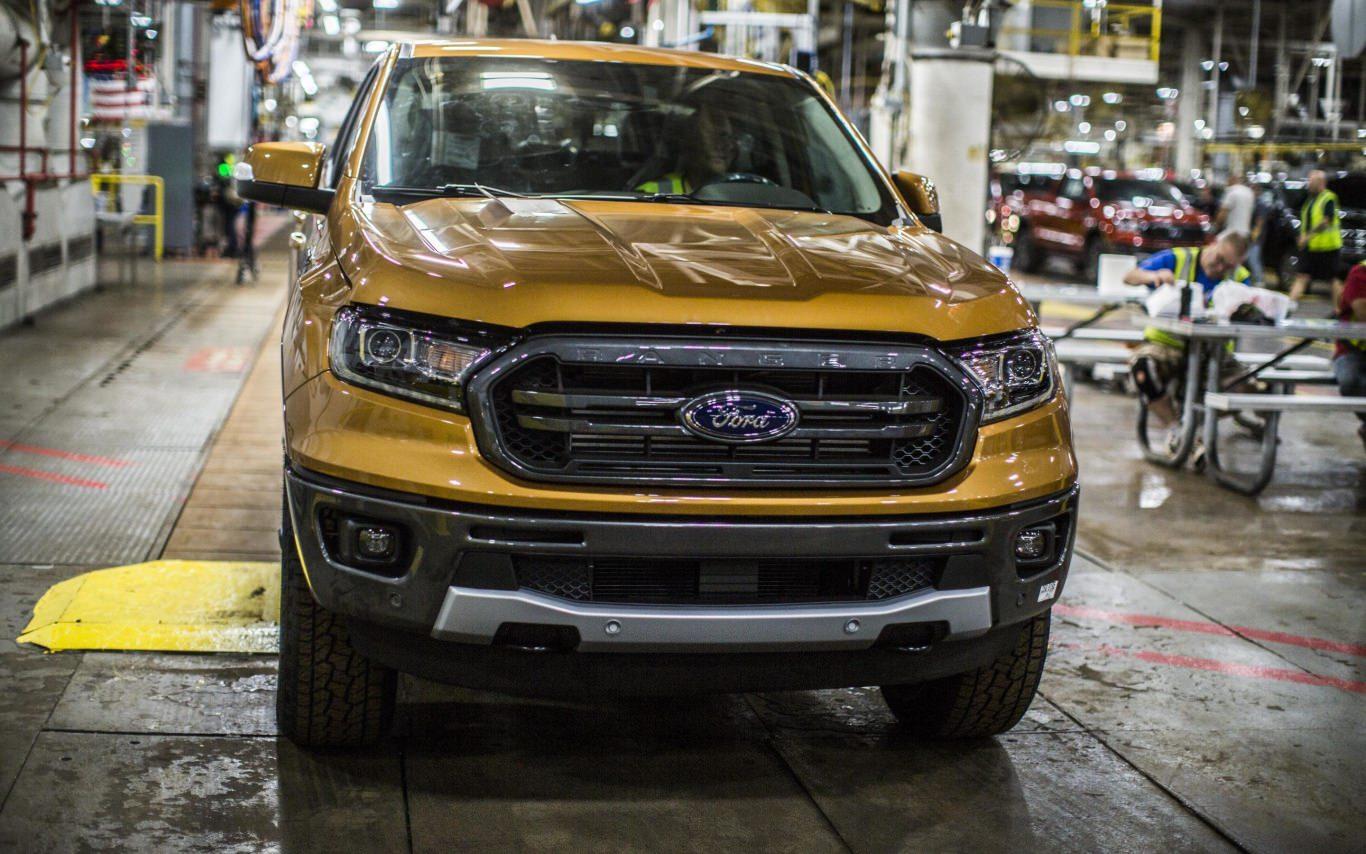 Ford Ranger production kicks off