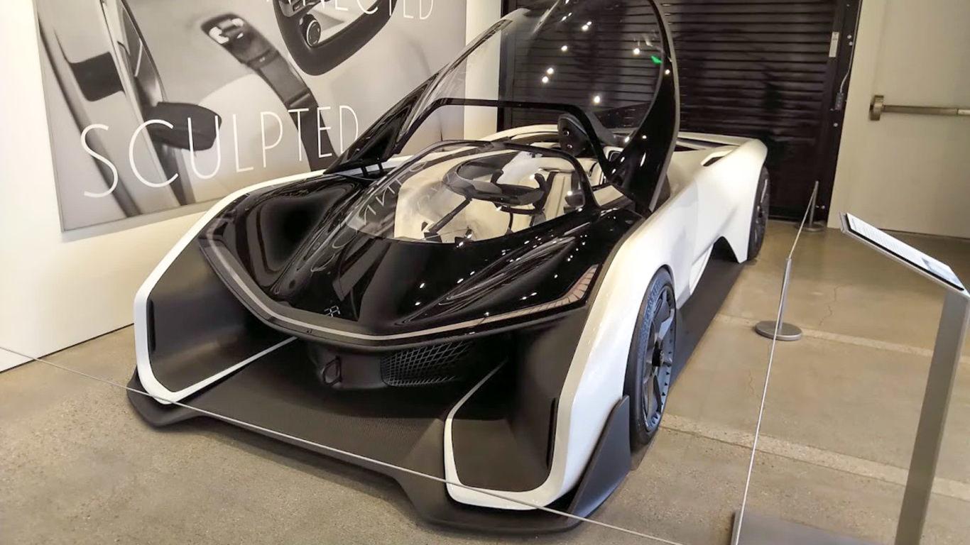 Aerodynamic autos on display at school for designers