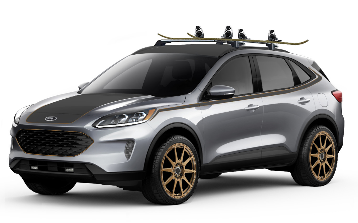 Ford puts the adventure bug in its SUVs for SEMA
