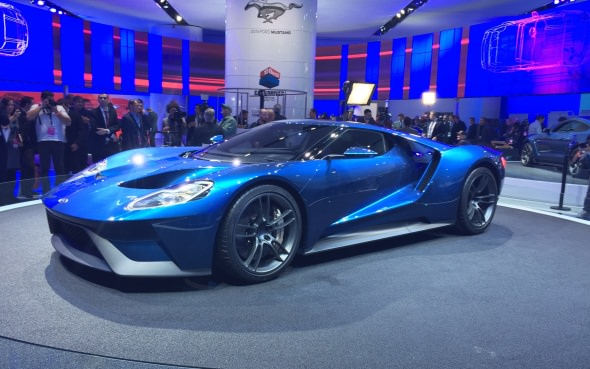 Ford Gt To Be Built In Canada