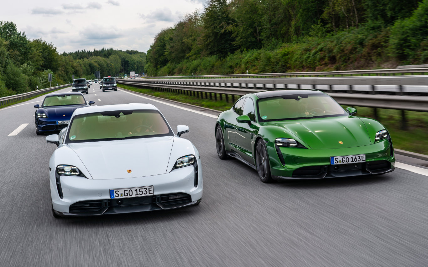 FIRST DRIVE: 269 km/h in a Porsche Taycan on the Autobahn!