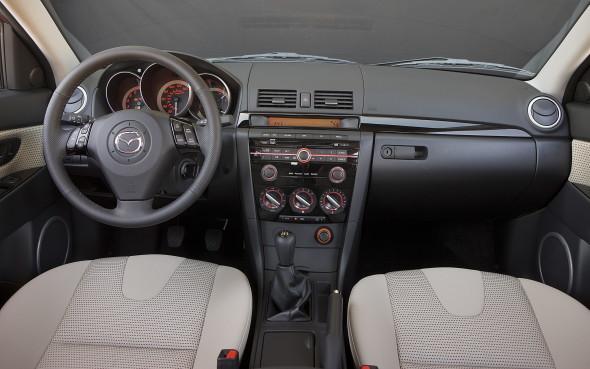 2008 Mazda3 Interior