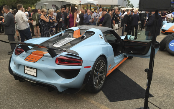 Factory Finished Gulf Liveried Porsche 918s Only In Canada