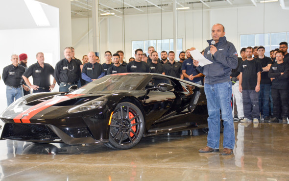 Ford Gt Start Of Production Multimatic Ford Gt Start Of Production Multimatic