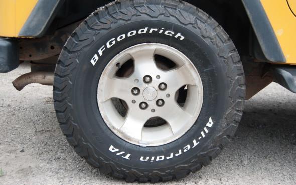 Bf Goodrich K02 >> Tire Test Bfgoodrich All Terrain T A K02 Part 1 Autofile Ca