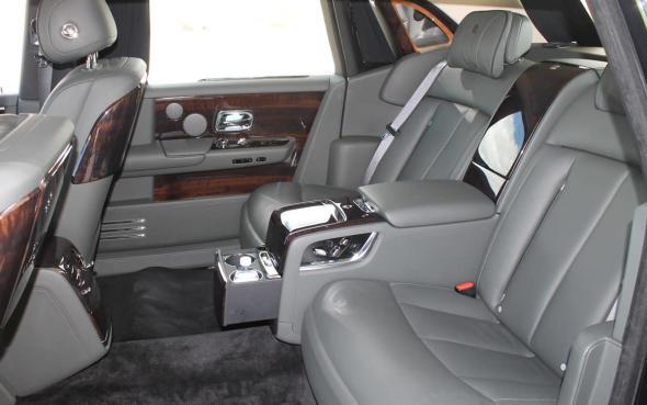 2018 Rolls Royce Phantom Rear Seat