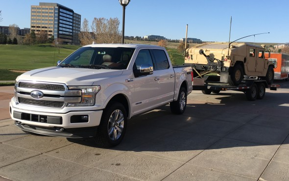FIRST DRIVE: 2018 Ford F-150 Power Stroke | Autofile ca