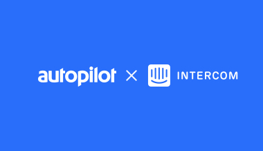 image from Introducing the Intercom and Autopilot integration