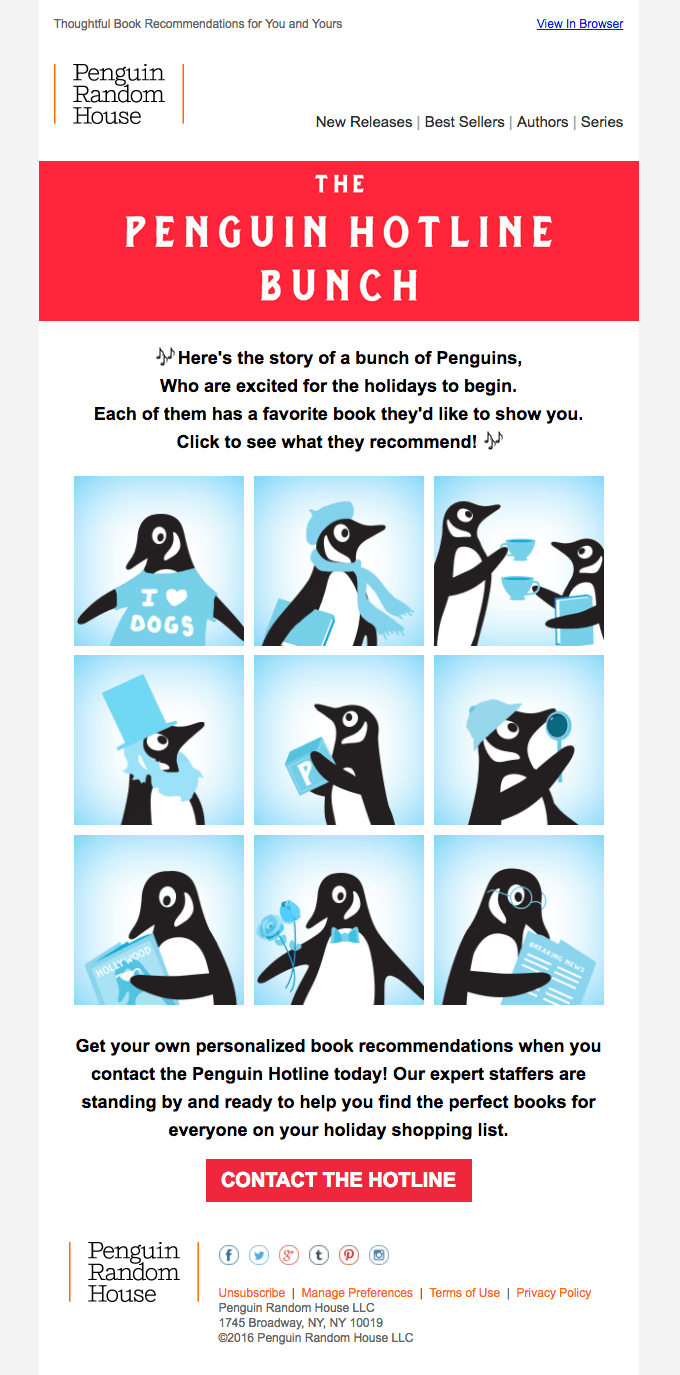 penguin random house penguin hotline bunch email