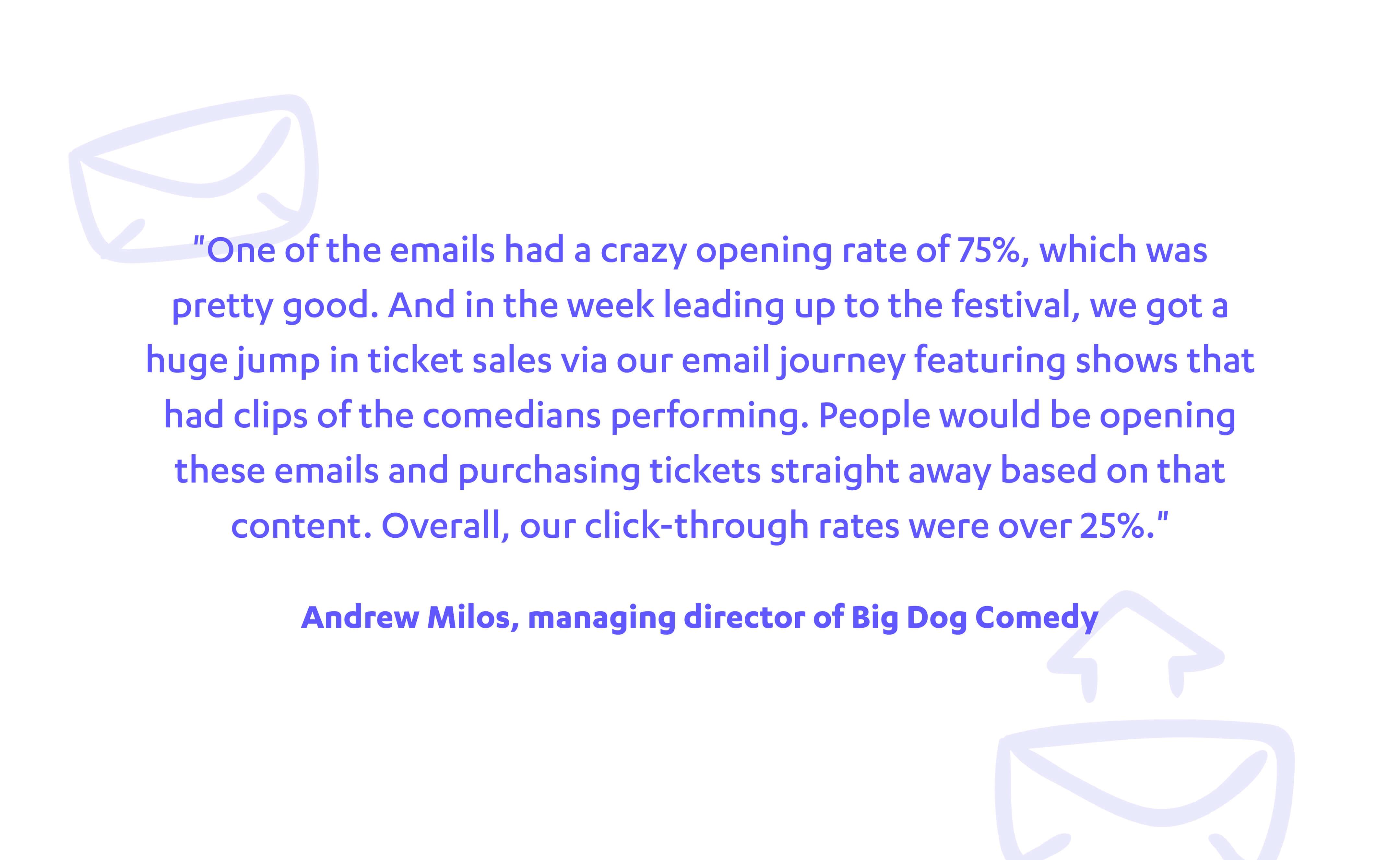 andrew milos managing director of big dog comedy autopilot