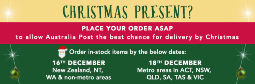 booktopia christmas delivery cut-off email