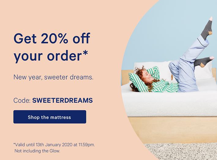 Casper mattress exit-intent pop-up discount