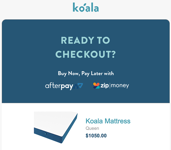 koala mattress afterpay offer