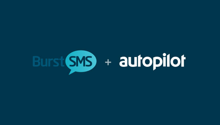 image from Incorporate personalised SMS into your customer journeys, with Burst SMS and Autopilot