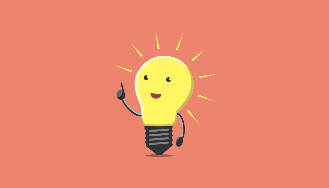 happy lightbulb