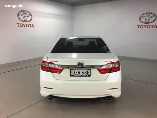 Toyota Aurion Sedan for Sale Artarmon 2064, NSW   carsguide