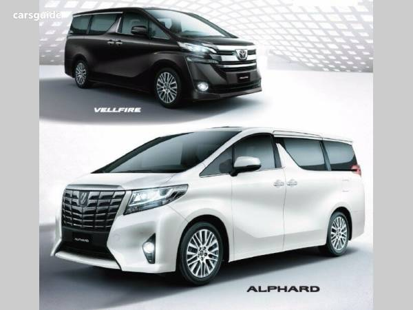 2018 Toyota Alphard Hybrid For Sale 129 888 People Mover Carsguide