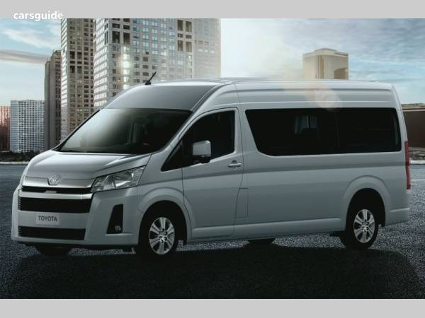 2019 Toyota Hiace Commuter GL (12 Seats) For Sale $70,140 Automatic on