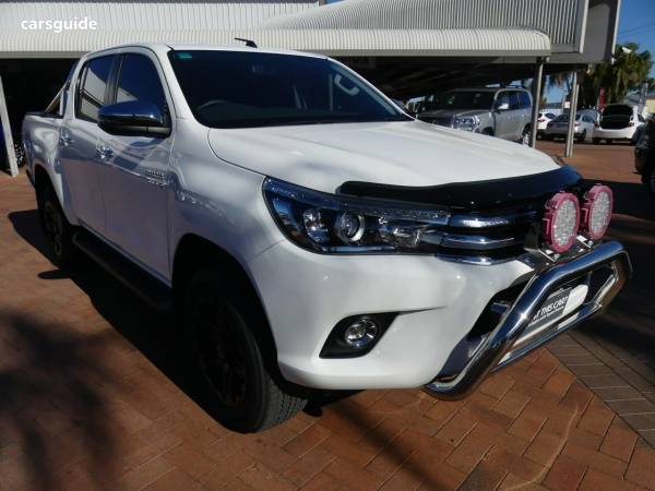 2018 Toyota Hilux SR5 (4X4) For Sale $50,990 Manual Ute / Tray