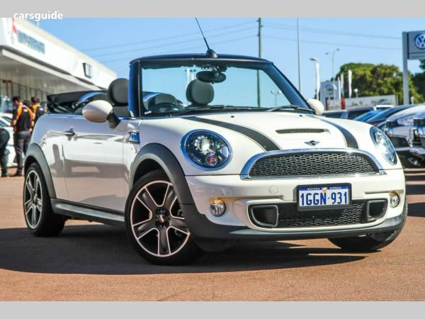 2014 Mini Cabrio Cooper S For Sale 27988 Automatic Convertible