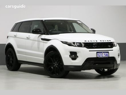 Land Rover Range Rover Evoque SUV for Sale with Bluetooth