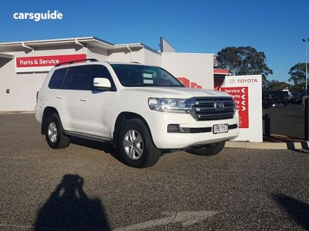 White Toyota Landcruiser SUV for Sale , page 31 | carsguide