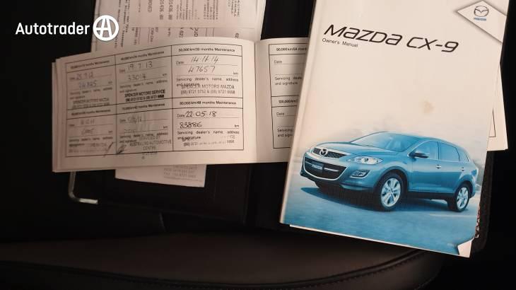 mazda cx 9 manual 2010