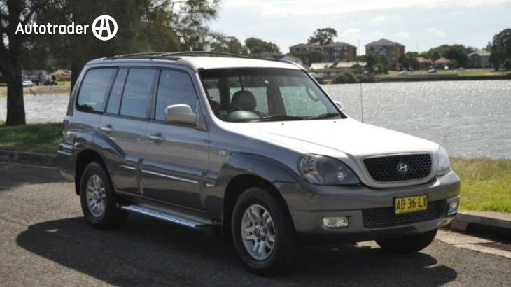 Hyundai terracan for sale nsw