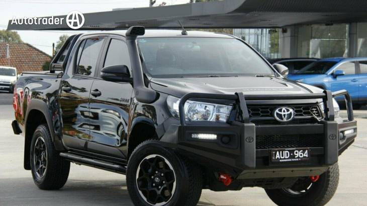 Black Toyota Hilux 2018 Cars for Sale | Autotrader