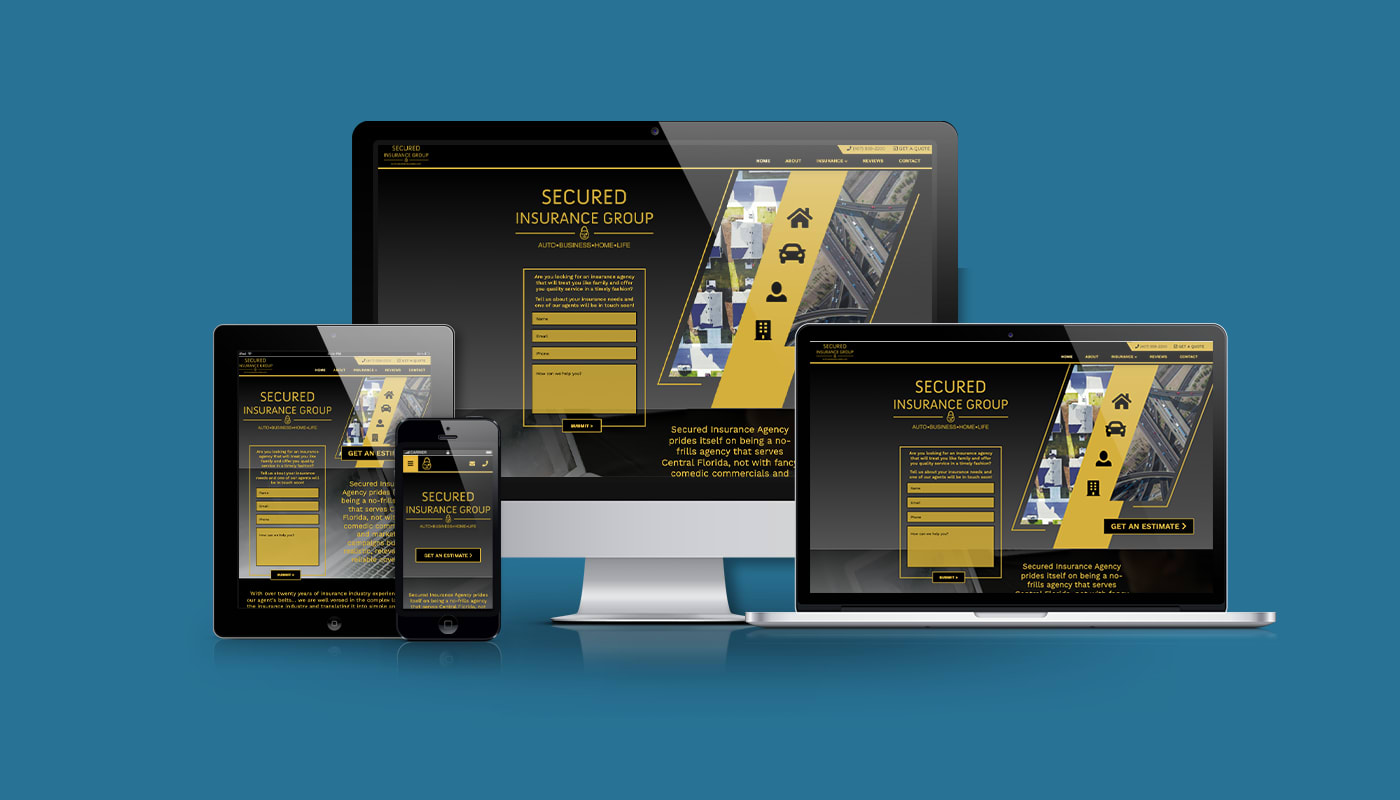 Secured Insurance Group Custom WordPress Website