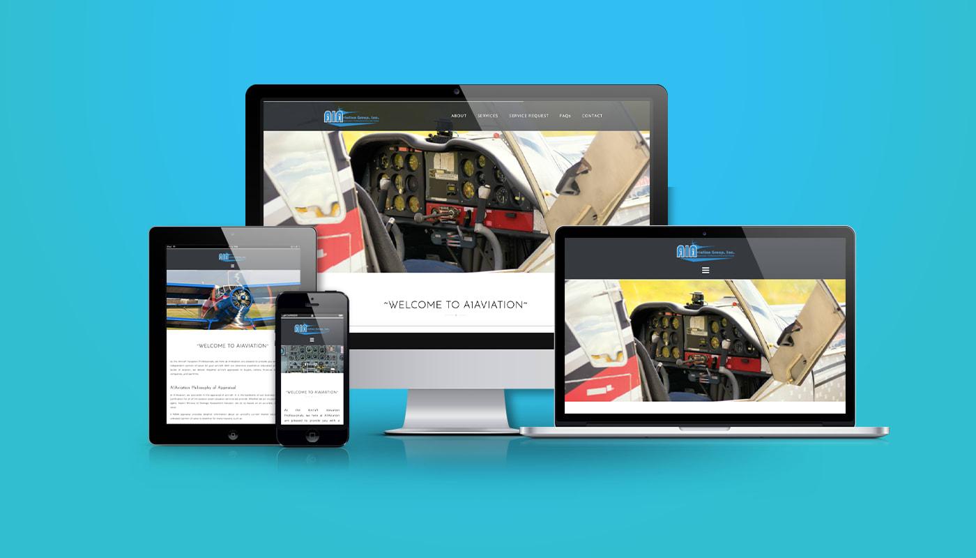 A1Aviation Group Custom WordPress Website