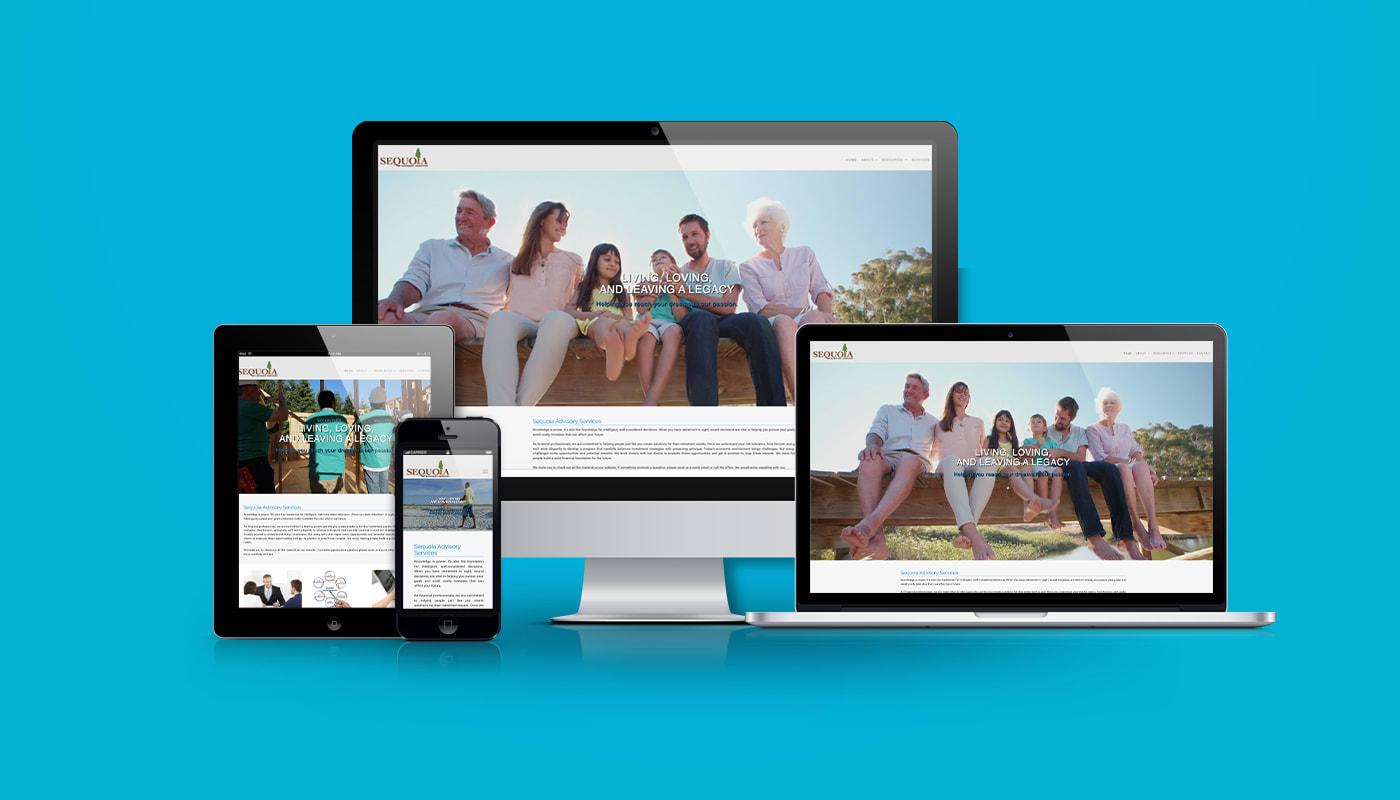Sequoia Advisory Service Custom WordPress Website