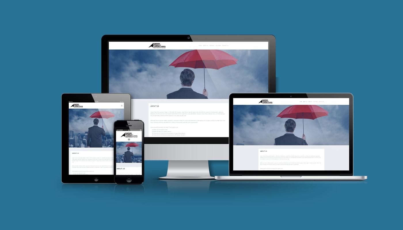 Soper Perez & Associates Custom WordPress Website