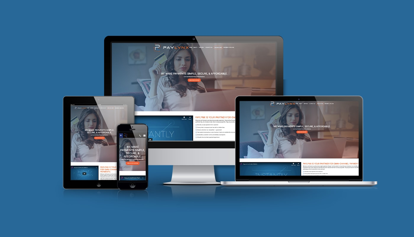PayLynx Custom WordPress Website