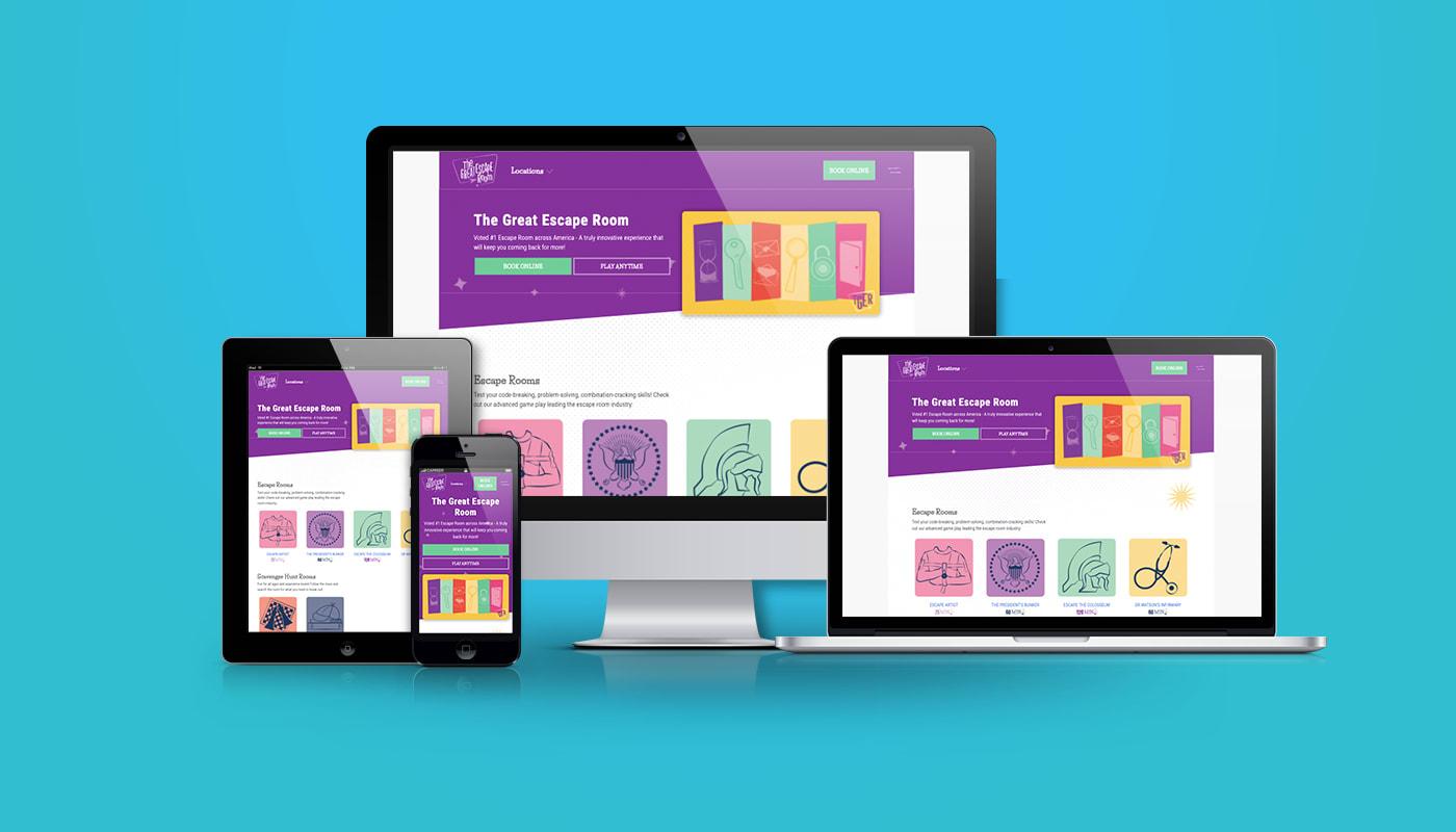 The Great Escape Room Custom WordPress Website