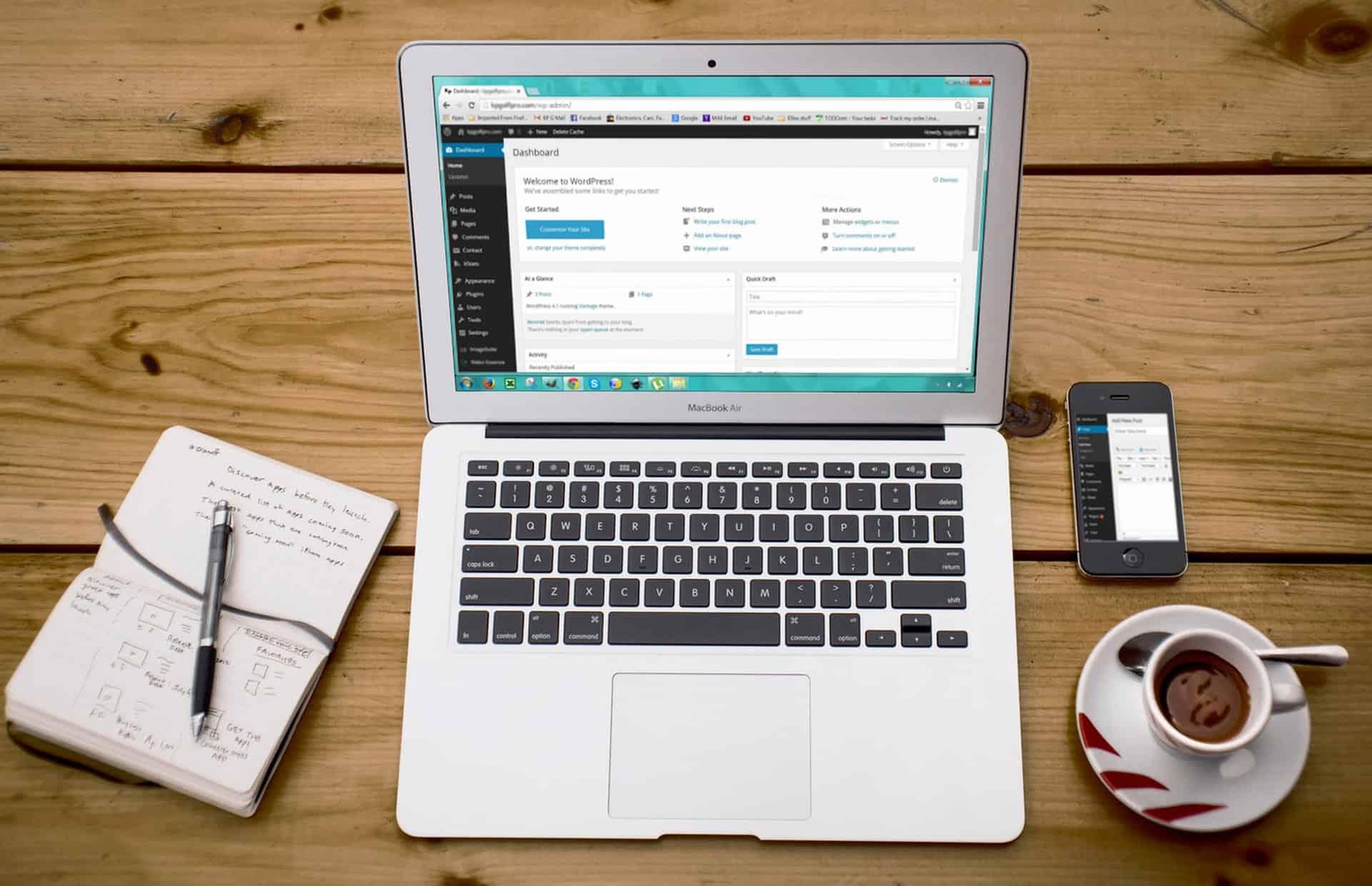 how to create a custom website in wordpress