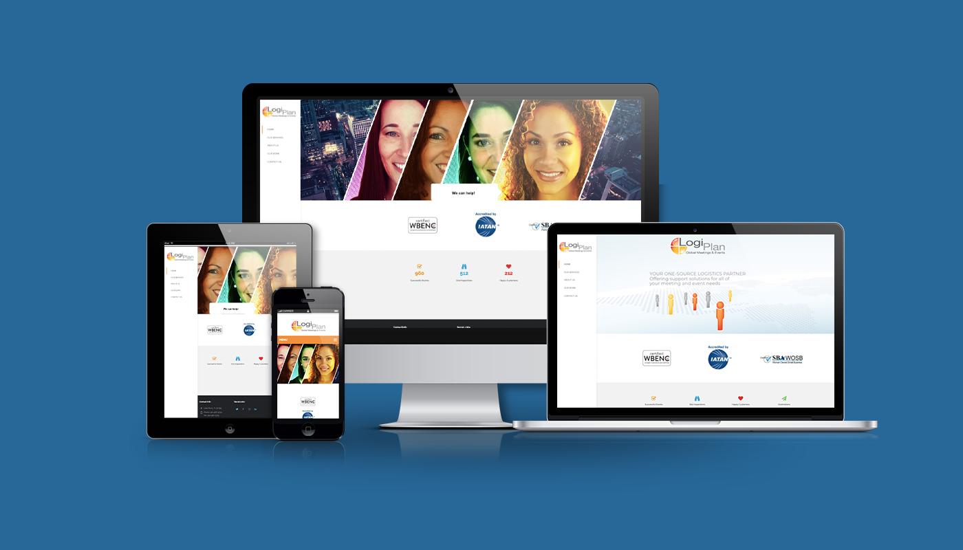 LogiPlan Events Custom WordPress Website