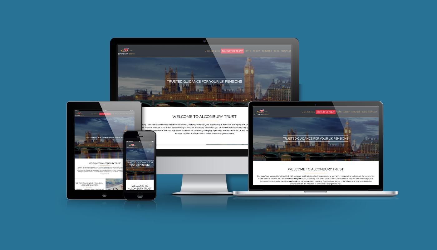 Alconbury Trust Custom WordPress Website