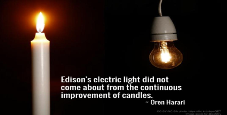 Edison Electric light