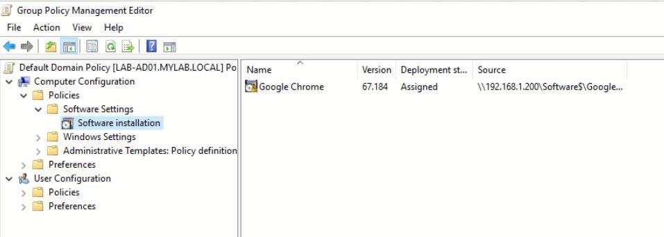 Deploy Google Chrome with GPO - AventisTech