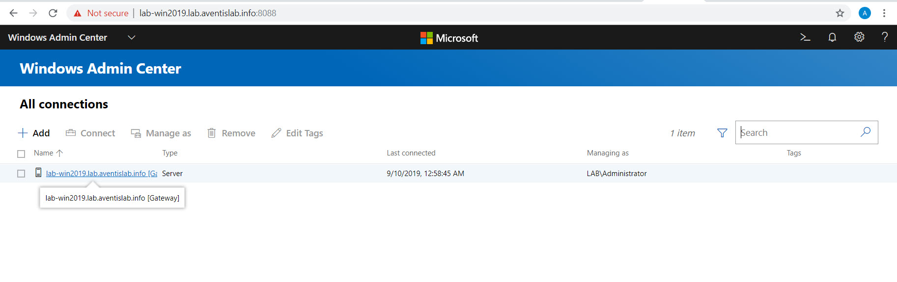 install windows admin center with cmd