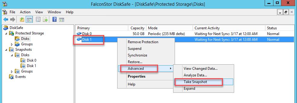 Data Restoration from Falconstor CDP