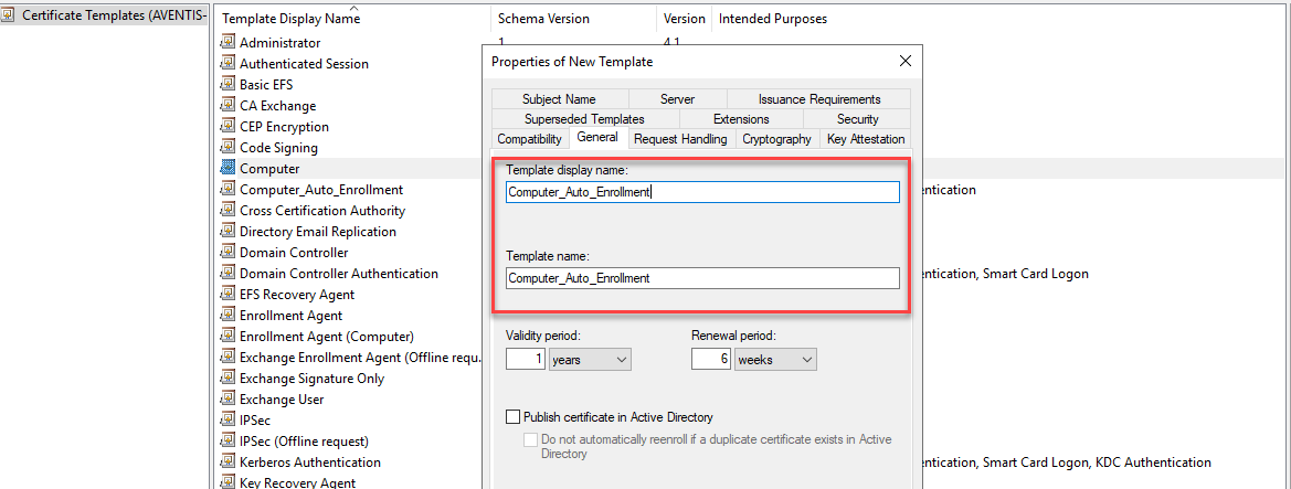 Auto Enroll Certificates with Group Policy