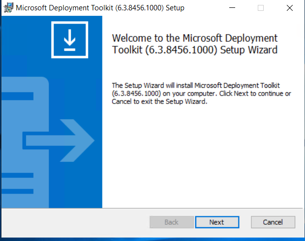 Windows 10 Deployment with MDT
