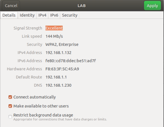 EAP-TLS Authentication on Ubuntu