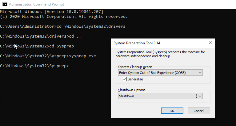Prepare Windows 10 Image for MDT Deployment