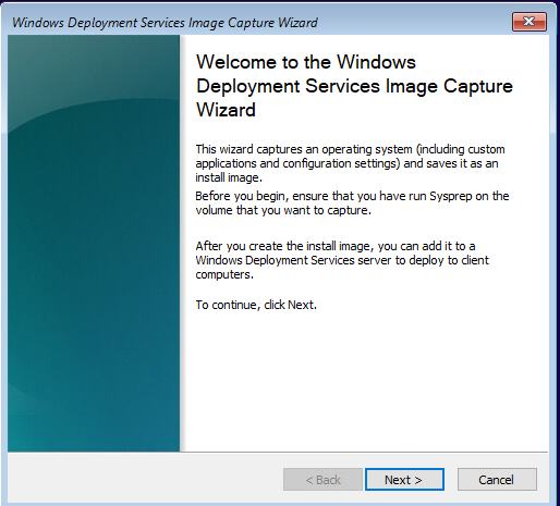 Capture Windows 10 Image for MDT Deployment